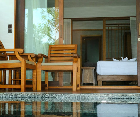 Beachfront Villa with Jacuzzi - Banana Fan Sea Resort