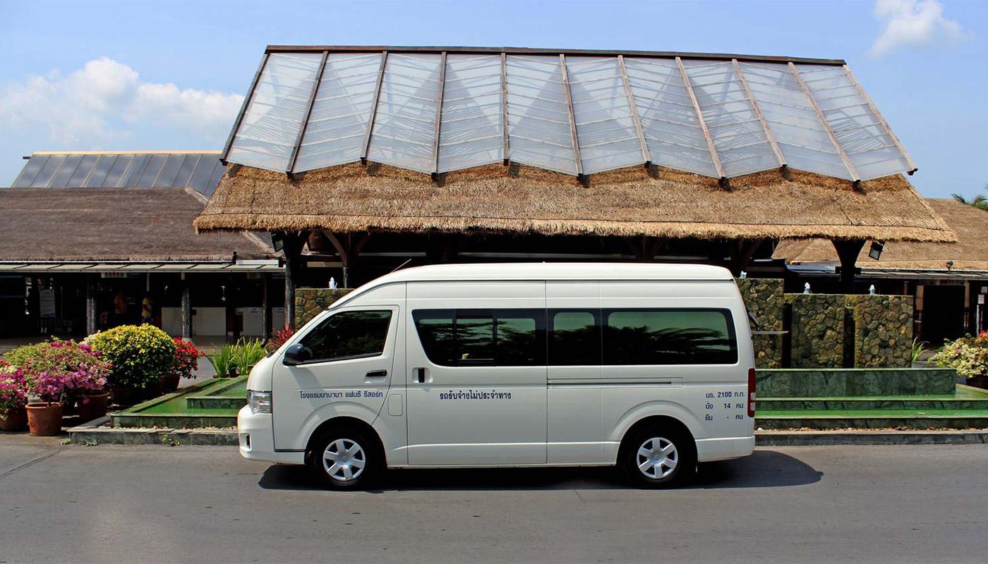 Airport Transfer - Banana Fan Sea Resort