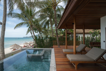 Beachfront Suite with Private pool
